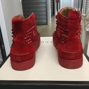 Christian Louboutin Shoes - Christian Louboutin Louis Spikes Men Flat …
